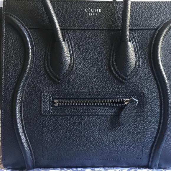 Celine Handbags - CELINE Micro Luggage - Like NEW Condition!!